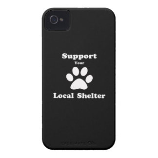 Support Your Local Shelter iPhone 4 Case
