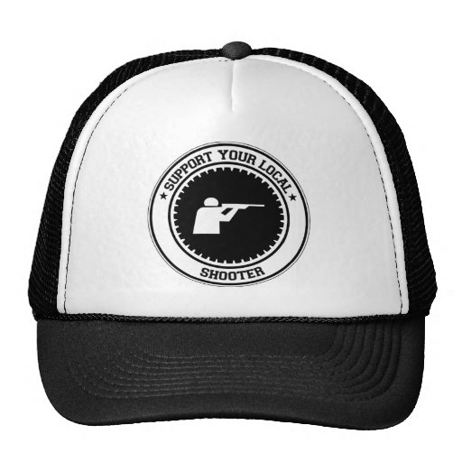 Support Your Local Shooter Trucker Hat