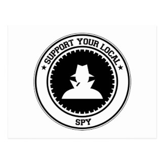 Support Your Local Spy Post Cards