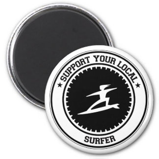 Support Your Local Surfer Magnet