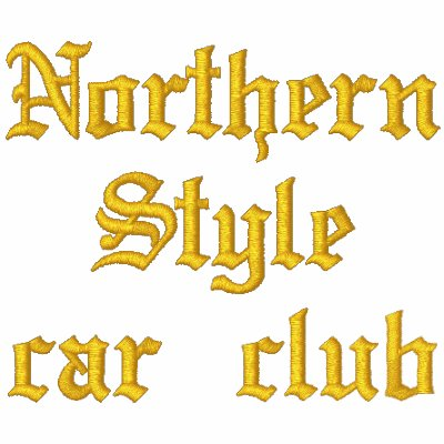Support your loco lowrider Northern Style Car Club Embroidered Hooded Sweatshirt