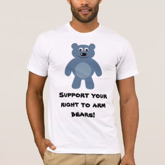 Support Your Right To Arm Bears T-Shirt