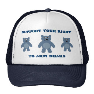 Support Your Right To Arm Bears Trucker Hat