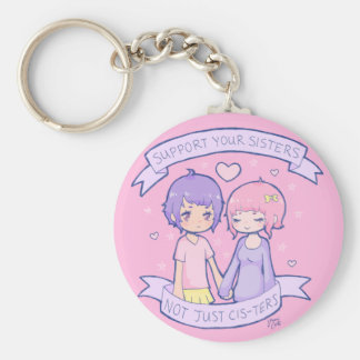 Support Your Sisters Keychain