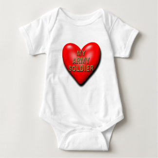 Support Your Soldier Baby Bodysuit