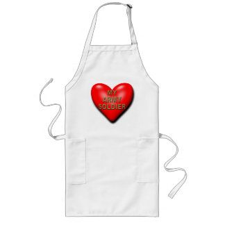 Support Your Soldier Long Apron