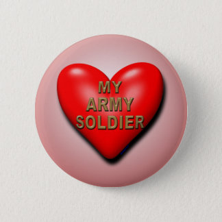 Support Your Soldier Pinback Button