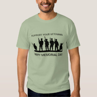 Support Your Veterans T-shirt