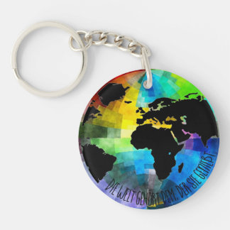 "Supporter ""Die Welt belongs to that, which enjoys Keychain"