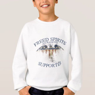Supporter - Distressed Eagle Sweatshirt