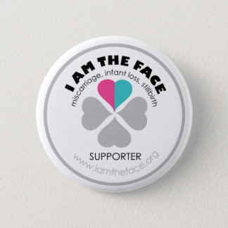 *Supporter* I AM THE FACE Pink and Blue Button