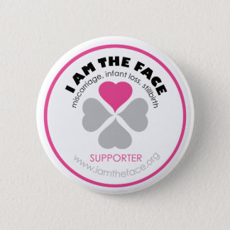 *Supporter* I AM THE FACE Pink Button