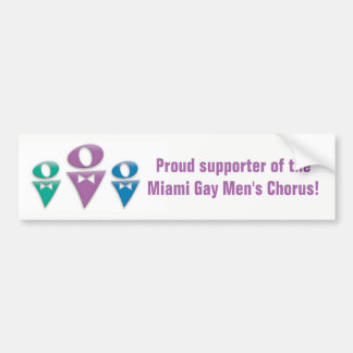 Supporter of MGMC Bumper Sticker