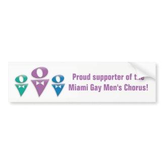 Supporter of MGMC Bumper Sticker