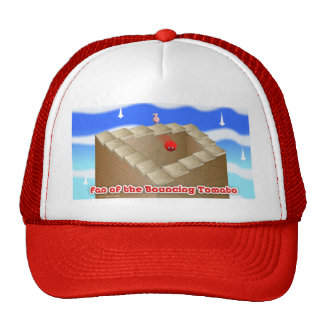 supporter or the Bouncing Tomato Trucker Hat