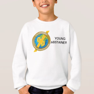 Supporting Abstainers.org with unique merchandise Sweatshirt