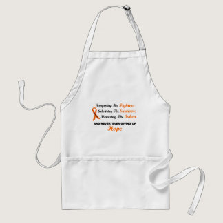 Supporting Admiring Honoring 1 LEUKEMIA Adult Apron