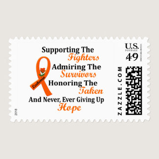 Supporting Admiring Honoring 2 LEUKEMIA Postage