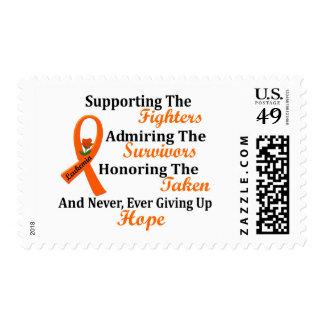 Supporting Admiring Honoring 2 LEUKEMIA Stamp