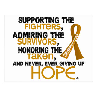 Supporting Admiring Honoring 3.2 Appendix Cancer Postcard