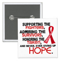 Supporting Admiring Honoring 3.2 Blood Cancer Button
