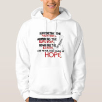 Supporting Admiring Honoring 3.2 Bone Cancer Hoodie
