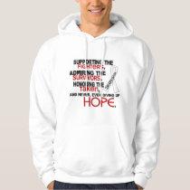 Supporting Admiring Honoring 3.2 Bone Cancer Hoodie