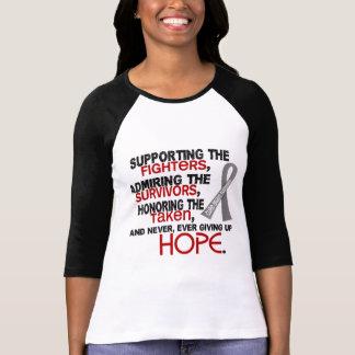 Supporting Admiring Honoring 3.2 Brain Tumor T Shirts