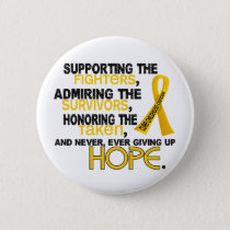Supporting Admiring Honoring 3.2 Childhood Cancer Button
