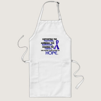Supporting Admiring Honoring 3.2 Colon Cancer Long Apron