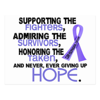 Supporting Admiring Honoring 3.2 Esophageal Cancer Postcard