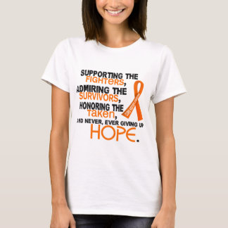 Supporting Admiring Honoring 3.2 Kidney Cancer T-Shirt
