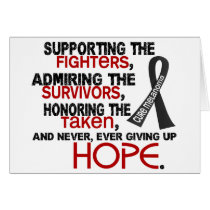 Supporting Admiring Honoring 3.2 Melanoma Card