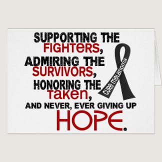 Supporting Admiring Honoring 3.2 Melanoma Card