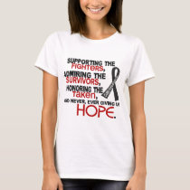 Supporting Admiring Honoring 3.2 Melanoma T-Shirt