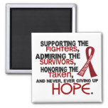 Supporting Admiring Honoring 3.2 Multiple Myeloma Refrigerator Magnet