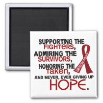 Supporting Admiring Honoring 3.2 Multiple Myeloma Magnet