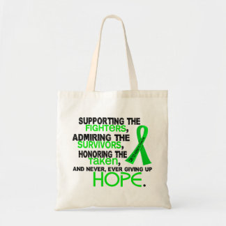 Supporting Admiring Honoring 3.2 Non-Hodgkin's Lym Budget Tote Bag