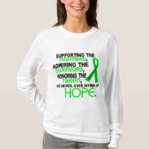 Supporting Admiring Honoring 3.2 Non-Hodgkin's Lym T-Shirt