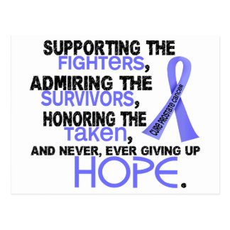 Supporting Admiring Honoring 3 2 Prostate Cancer Postcard