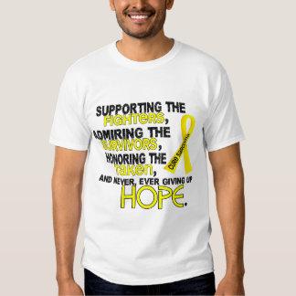 Supporting Admiring Honoring 3.2 Sarcoma Shirt
