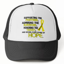 Supporting Admiring Honoring 3.2 Sarcoma Trucker Hat