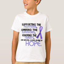 Supporting Admiring Honoring 3.2 Stomach Cancer T-Shirt