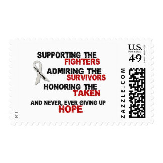 Supporting Admiring Honoring 3 LUNG CANCER Postage