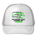 Supporting Admiring Honoring 3 LYMPHOMA Trucker Hat