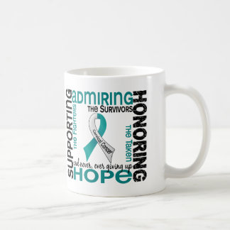 Supporting Admiring Honoring 9 Cervical Cancer Coffee Mug