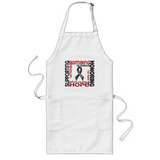Supporting Admiring Honoring 9 Melanoma Long Apron