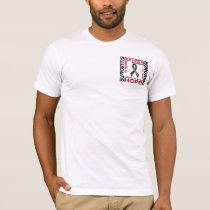Supporting Admiring Honoring 9 Melanoma T-Shirt