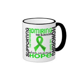 Supporting Admiring Honoring 9 Non-Hodgkins Lympho Ringer Mug