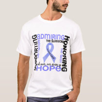 Supporting Admiring Honoring 9 Prostate Cancer T-Shirt
